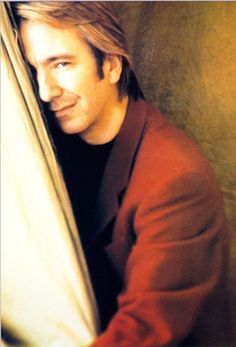 Alan Rickman, the reason I am in love with Colonel Brandon and Prof. Snape.