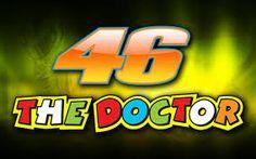 "Valentino Rossi 46 ""The Doctor"" Fridge Magnet"