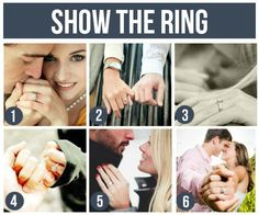 Pose Ideas for Couples: Show The Ring!!