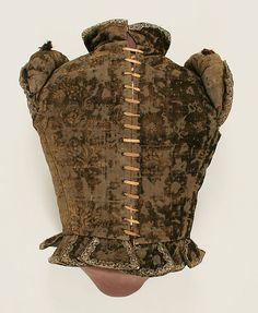 Jerkin (image 2) | European | 1570-1580 | silk, metal thread | Metropolitan Museum of Art | Accession Number: 26.196