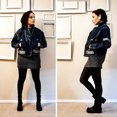 80s  Rockstar  Denim Blue Jean Jacket with by FrankieMariebyRehcy, $56.00 #80sfashion #1980s #fallFashion # denimjacket #vintage #vintagefashion #jeanjacket #fashion