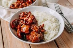 Our recipe for the quintessential chicken teriyaki you love to get at malls across America. Make our mall chicken teriyaki at home, with just 9 ingredients! Wok Recipes, Asian Recipes, Chicken Recipes, Cooking Recipes, Ethnic Recipes, Asian Foods, Chinese Recipes, Copycat Recipes, Bon Appetit