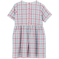 T-Shirt Smock Dress Pink Check and other apparel, accessories and trends. Browse and shop 8 related looks.