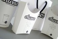 Nice churros' packaging concept by     Fernando Suárez