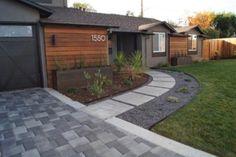 Fabulous front yard walkway landscaping ideas (51)