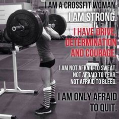 woman crossfit quotes   pinned by chelsea novotny