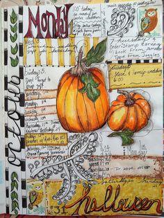 Calendar Journal / Oct. | Flickr - Photo Sharing! Born 2 b creative