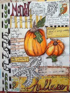 Calendar Journal / Oct. | Flickr - Photo Sharing! Born 2 b creative