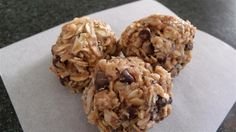 another kind of energy balls...substitute cookie butter with nut butter