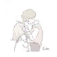 Art Anime, Anime Art Girl, Aesthetic Anime, Aesthetic Art, Cute Couple Wallpaper, Cute Love Cartoons, Cute Art Styles, Cute Anime Pics, Zodiac Love