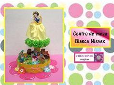 ♥♥Centro de mesa de Blanca Nieves♥-♥Creaciones mágicas♥♥