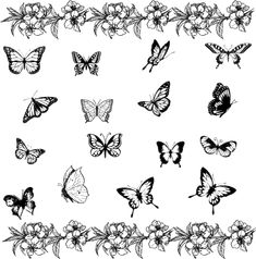 Butterfly Tattoos, Designs And Ideas : Page 59