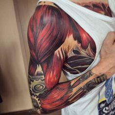G-O-O-D N-I-G-H-T   #me #inked #inkedup #ink #inkedmen #inkedboy #tattoo #tattooed #tats #tattedup #crazytattoos #tattoostudio #szczecin #man #bones #alternative #fitness #lifestyle #berlin #meckpomm #mechanic #biomech #muscles #nikon #biomechanical #biomech_collective #sorrymummytattoo #german #inks #hello by matze.pogo