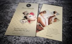leaflet for a beautician, beauty studio, printing DTP, leaflet presentation, beauty salon, design flyer