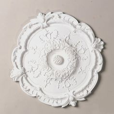 Ornate Round Ceiling Medallion - Shades of Light Ceiling Rose, Ceiling Tiles, Ceiling Fan, Ceiling Lights, Ceiling Medallion Art, Plaster Ceiling Design, Ceiling Decor, Farmhouse Ceiling Medallions, Classic Ceiling