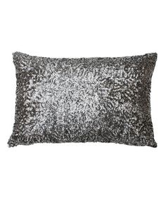 Take a look at this Charcoal Griselda Sequin Pillow by THRO on #zulily today!