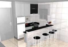 Fotos de cozinhas planejadas pequenas (100 exemplos incríveis de cozinhas planejadas)