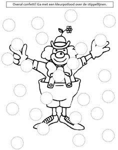 Tarot Keywords - quick reference charts for the major arcana Preschool Art, Preschool Worksheets, Preschool Activities, Circus Crafts, Carnival Crafts, Theme Carnaval, Tracing Art, Le Clown, Do A Dot