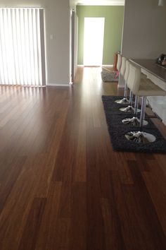 Naturally Bamboo flooring - Carbonised