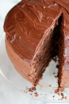Chocolate lovers chocolate recipe guide of cooking Chocolate Lovers, Chocolate Recipes, Chocolate Cakes, Chocolate Chocolate, Half Baked Harvest, Moist Cakes, Round Cake Pans, Let Them Eat Cake, Healthy Desserts