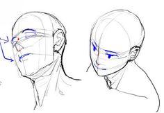 アオリ・フカンを克服する!頭部・顔の描き方 | 漫画素材工房 MANGA MATERIALS
