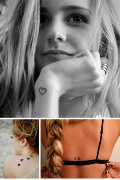 Ideias de tatuagem feminina, delicada e minimalista, com desenhos geométricos, símbolos ou palavras cujo o significado trazem inspiração. Confira no blog!