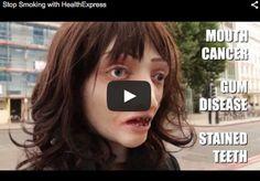Screenshot taken from YouTube of a zombie smoking prank shot in London