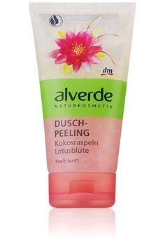 My new Fav. Body Peeling ---> ALVERDE Duschpeeling Kokosraspeln Lotusblüte____ LOVE IT!