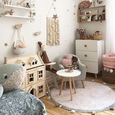 All the pretty things little details in this room have us swooning! Featuring our Bubbly rug and Cotton Field . Kids Wall Decor, Nursery Decor, Room Decor, Lorena Canals Rugs, Interior Concept, Little Girl Rooms, Kid Spaces, Kids Bedroom, Room Inspiration