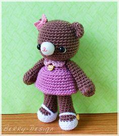 Crochet Pattern: Latte Bear