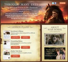 War Horse lesson plans and resources