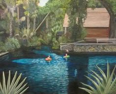 Paint Designs, Aquarium, Display, Artwork, Painting, Goldfish Bowl, Floor Space, Work Of Art, Billboard