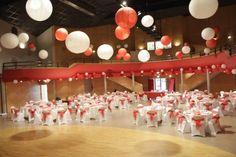 plafond boules japonaises