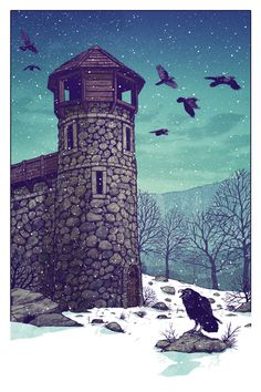 The Rookery at Castle Black by Tim Anderson
