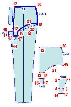 Leena's.com: PatternMaker Tutorial Web Site Bra Pattern, Pants Pattern, Pattern Blocks, Underwear Pattern, Sewing Patterns Free, Sewing Tutorials, Clothing Patterns, Shirt Patterns, Dress Patterns