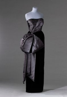 Fripperies and Fobs Jacques Fath evening dress, 1954-55