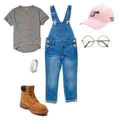 Sans titre #9 by fast-car on Polyvore featuring polyvore, Timberland, ZeroUV, Hollister Co., West Coast Jewelry, fashion, style and clothing
