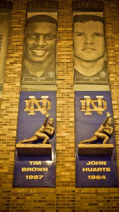ND's Most Recent Heisman Award Winners. Would be proud to have to make room for Manti Te'o!
