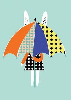 Becky Bauer poster parasol 29.7 x 42 cm