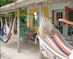 to totally relax in one of these #hammocks from #Belize ahhh