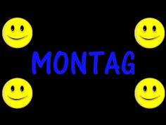(1) German Days of the Week Song (Remix) - Das Wochentage Lied - YouTube