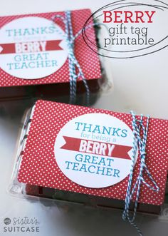 Teacher Appreciation gift- this would be cute paired with dipping chocolate!