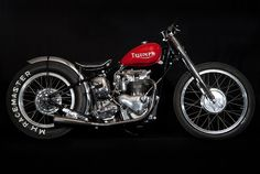 ϟ Hell Kustom ϟ: Triumph T100 By Baron Speed Shop