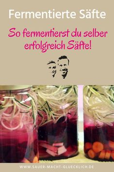 So fermentierst du selber erfolgreich Säfte! In this guest article by Ulrike Eder of your diet you will learn how to successfully ferment juices and whether fermentation without salt works at all. Lamb Recipes, Raw Food Recipes, Baking Recipes, Healthy Recipes, Healthy Snacks, Kefir Recipes, Detox Recipes, Ginger Bug, Chutneys