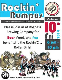 Rogness Brewery Fundraising Event on 10/10/14.