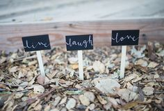 Calligraphy signs