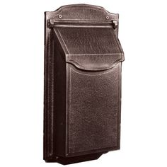 Special Lite Products Company Contemporary Vertical Mailbox in Copper Wall Mount Mailbox, Mailboxes For Sale, Copper Mailbox, Contemporary Mailboxes, Address Plaque, Home Reno, Minimal Design, Houses