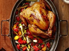 Herb-Roasted Chicken from FoodNetwork.com