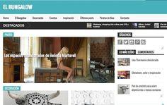 Lanzamos El Bungalow, inspiración, estilo, decoración, fotografía y mucho más.