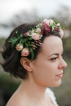 Charming Rustic Texas Wedding from The Nichols - wedding hairstyle
